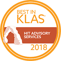 Best in KLAS HIT Advisory Services 2018