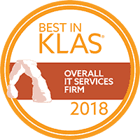 Best in KLAS Overall IT Services Firm 2018