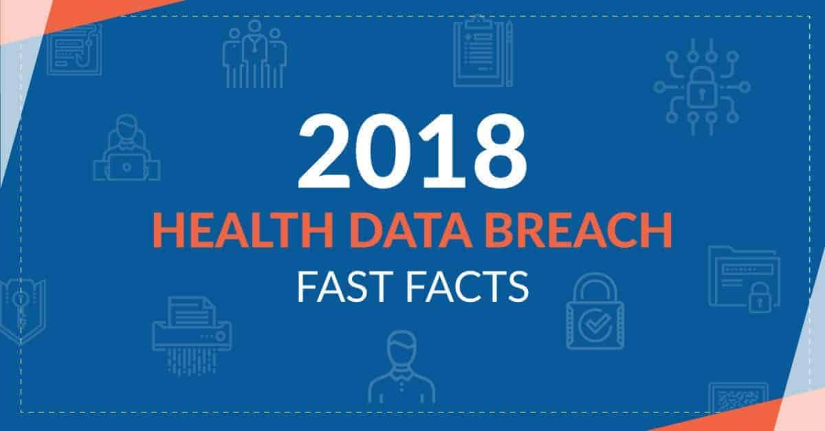 2018 Health Data Breaches Fast Facts