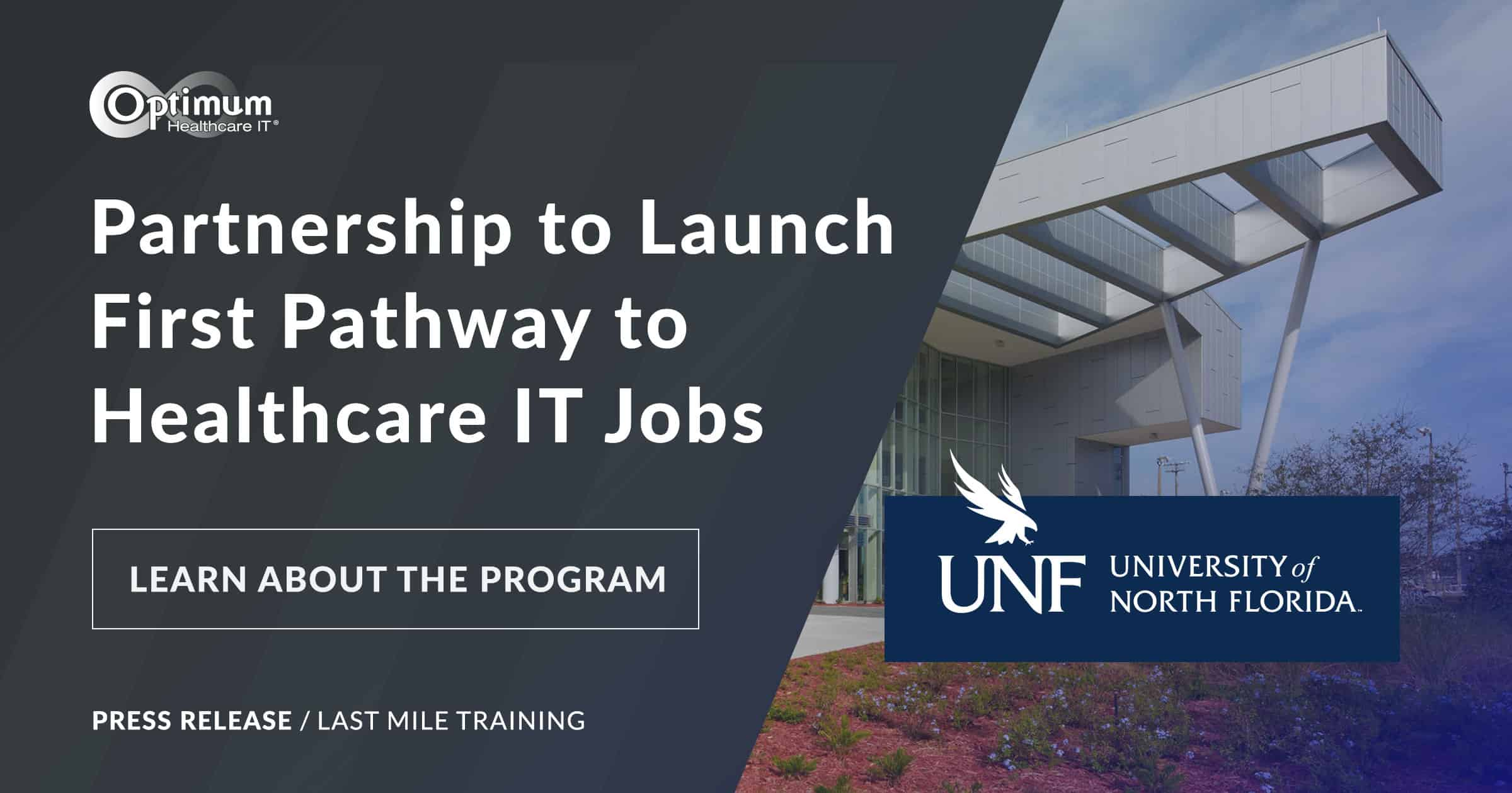 Press Release: Partnership to Launch First Pathway to Healthcare IT Jobs